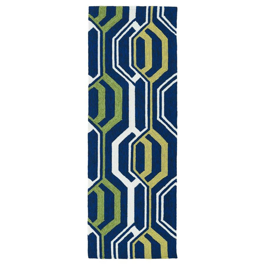 Kaleen Escape Navy 2-ft x 6-ft Runner