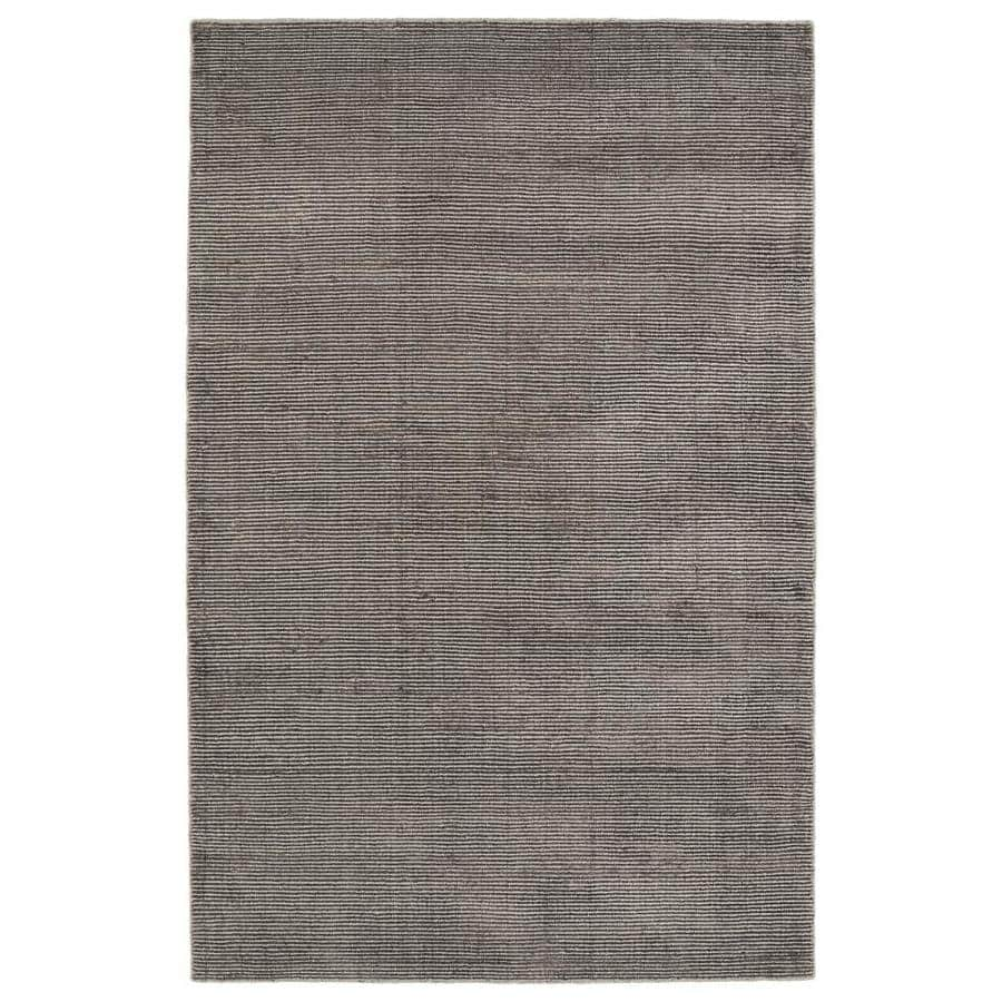 Kaleen Luminary Chocolate Rectangular Indoor Handcrafted Novelty Throw Rug (Common: 2 x 3; Actual: 2-ft W x 3-ft L)
