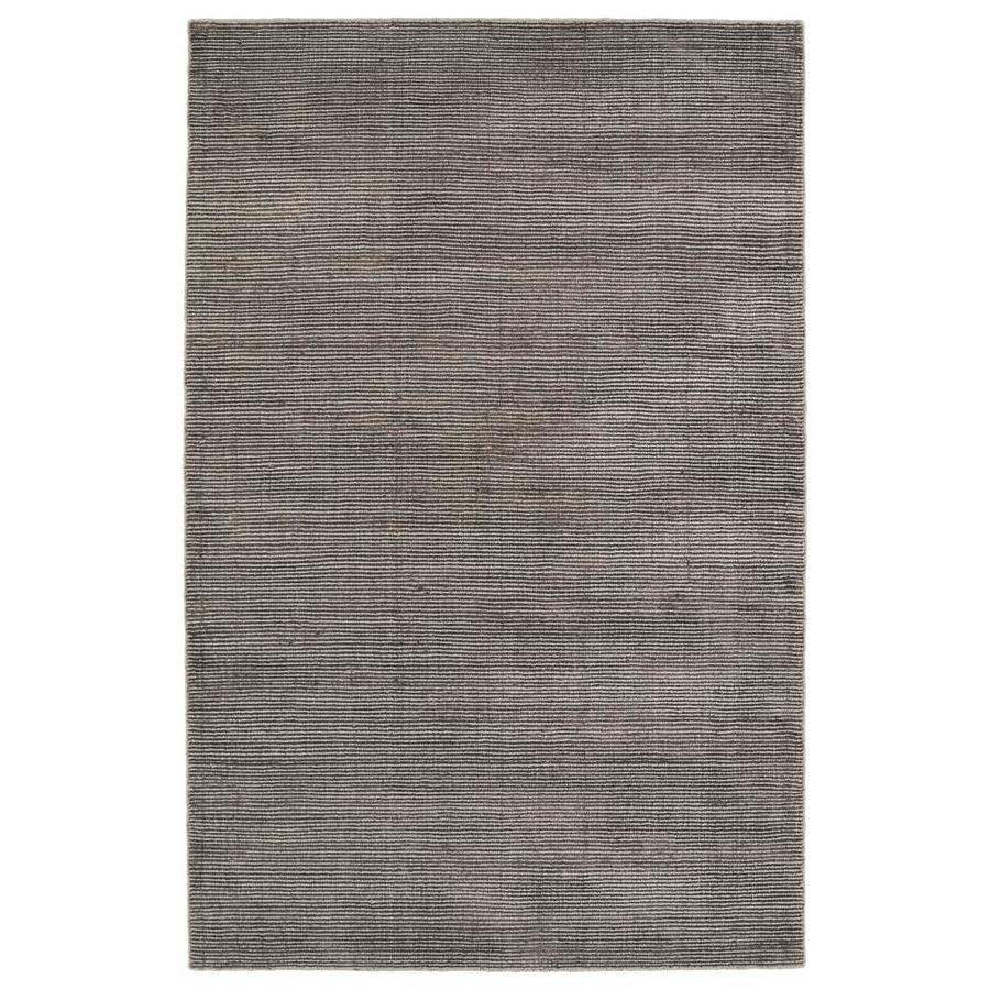 Kaleen Luminary Chocolate Indoor Handcrafted Novelty Area Rug (Common: 8 x 10; Actual: 8-ft W x 10-ft L)