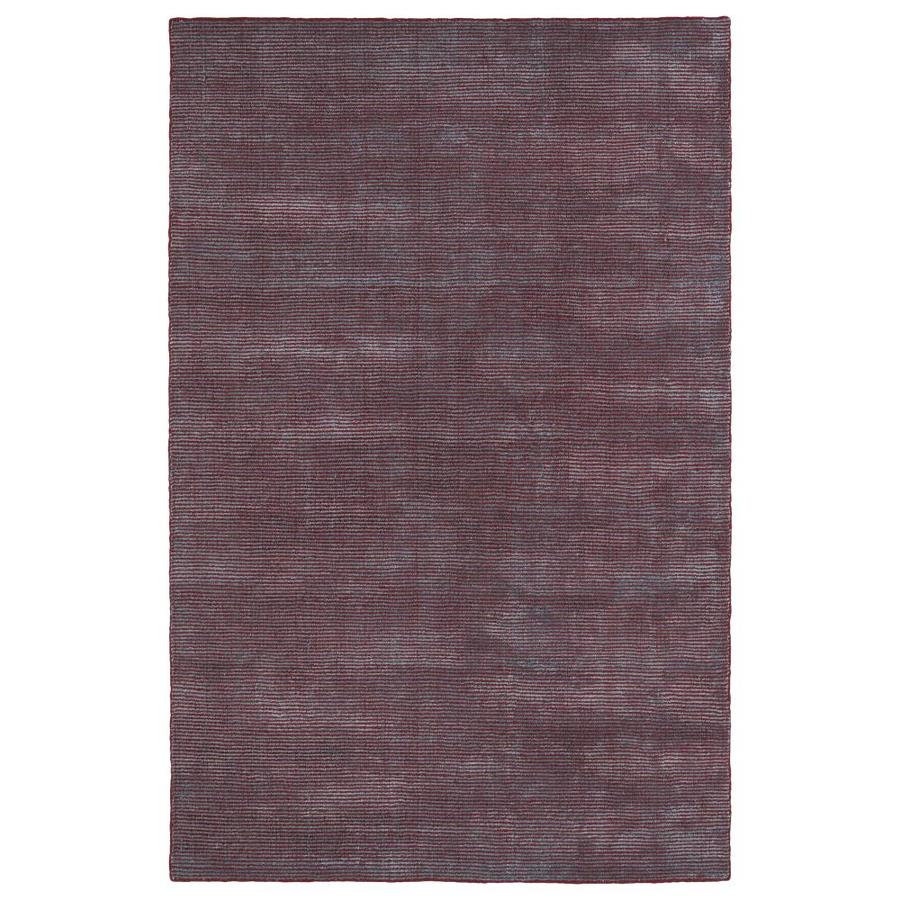 Kaleen Luminary Red Rectangular Indoor Handcrafted Novelty Throw Rug (Common: 3 x 5; Actual: 3-ft W x 5-ft L)
