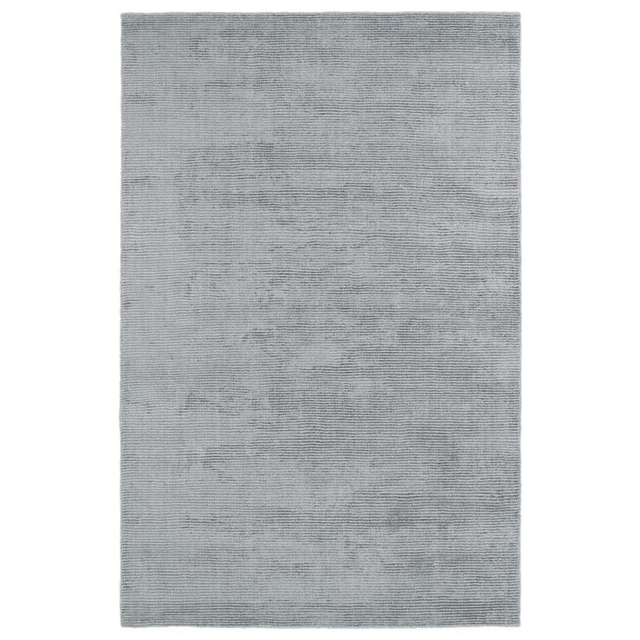 Kaleen Luminary Silver Rectangular Indoor Handcrafted Novelty Throw Rug (Common: 2 x 3; Actual: 2-ft W x 3-ft L)