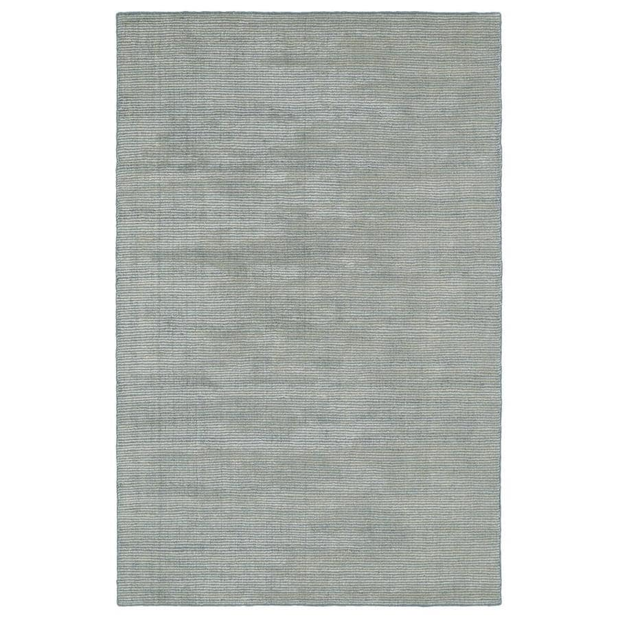 Kaleen Luminary Slate Rectangular Indoor Handcrafted Novelty Throw Rug (Common: 3 x 5; Actual: 3-ft W x 5-ft L)