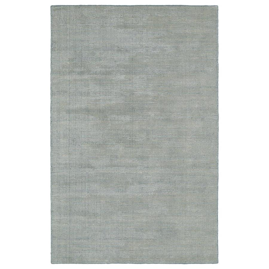 Kaleen Luminary Slate Rectangular Indoor Handcrafted Novelty Area Rug (Common: 8 x 10; Actual: 8-ft W x 10-ft L)