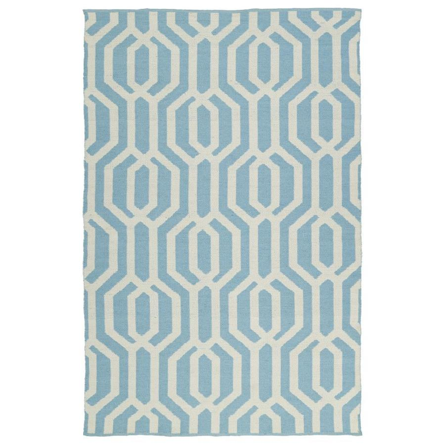 Kaleen Brisa Spa Indoor/Outdoor Handcrafted Coastal Area Rug (Common: 5 x 8; Actual: 5-ft W x 7.5-ft L)