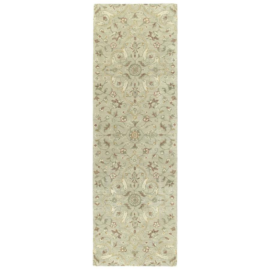 Kaleen Helena Mushroom 2-ft6-in x 8-ft Runner