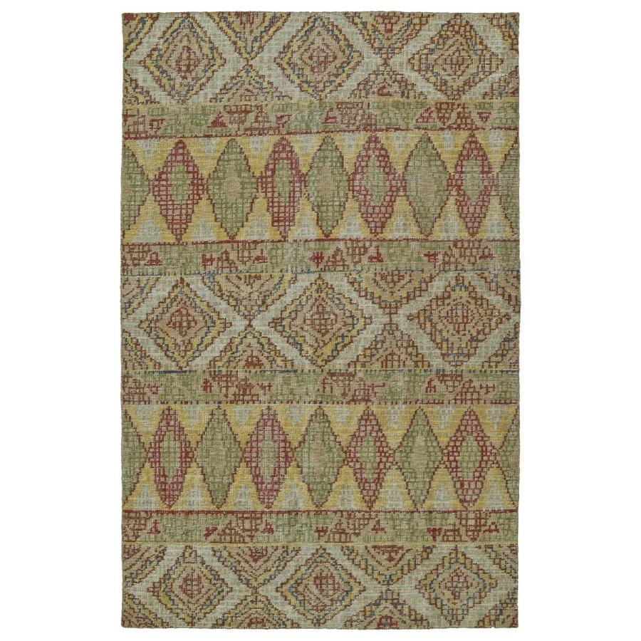 Kaleen Relic Multi Rectangular Indoor Handcrafted Southwestern Area Rug (Common: 8 x 10; Actual: 8-ft W x 10-ft L)