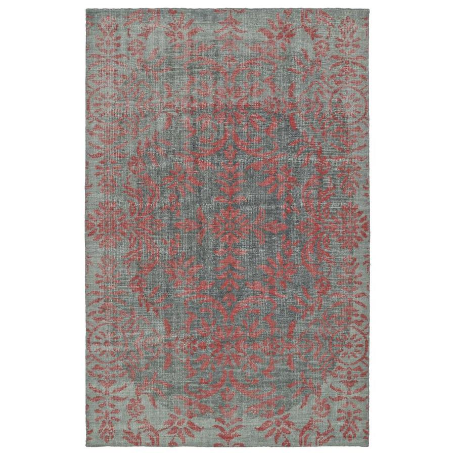 Kaleen Relic Pink Rectangular Indoor Handcrafted Southwestern Area Rug (Common: 8 x 10; Actual: 8-ft W x 10-ft L)