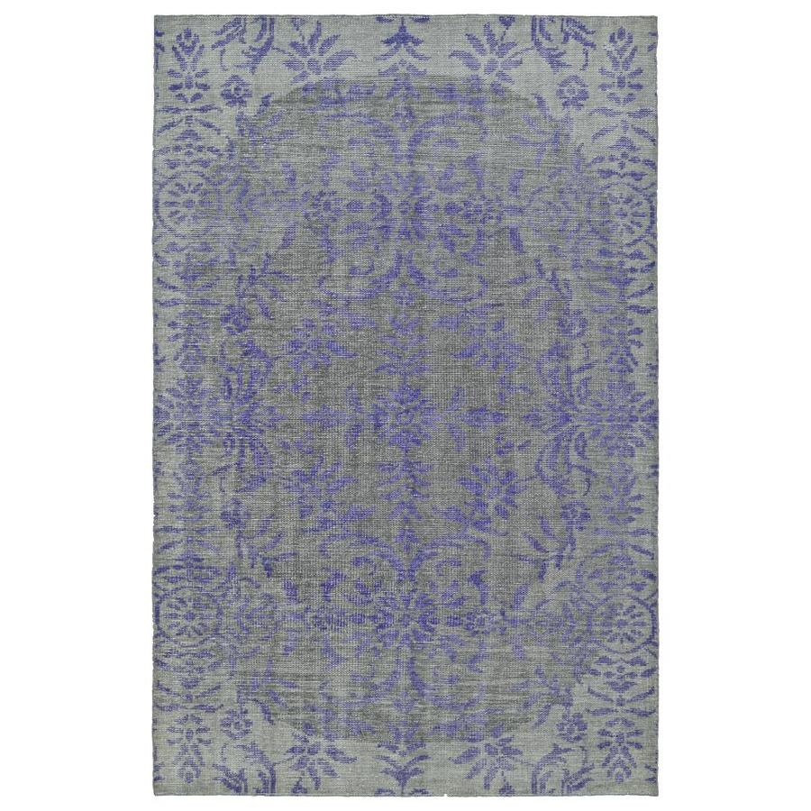 Kaleen Relic Purple Indoor Handcrafted Southwestern Area Rug (Common: 4 x 6; Actual: 4-ft W x 6-ft L)