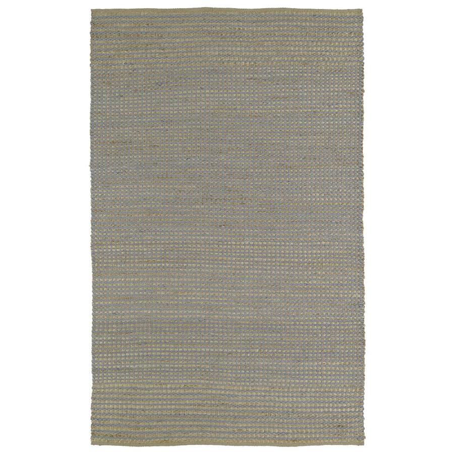 Kaleen Colinas Slate Rectangular Indoor Handcrafted Nature Area Rug (Common: 8 x 10; Actual: 8-ft W x 10-ft L)