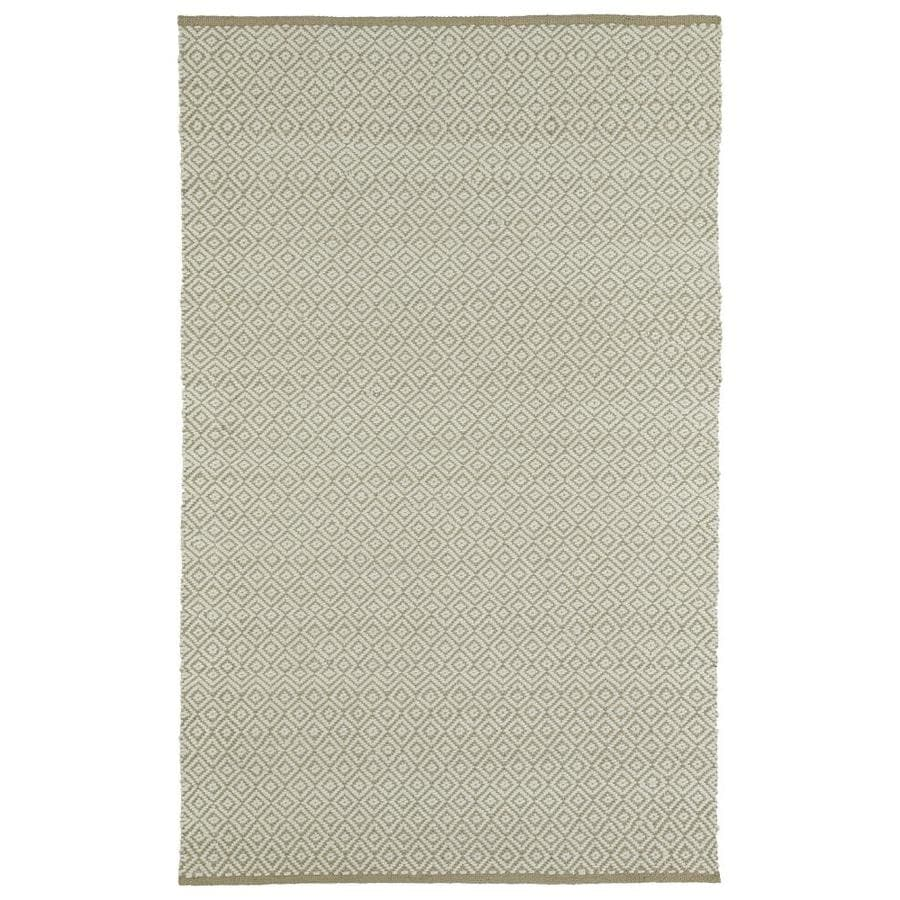 Kaleen Colinas Camel Indoor Handcrafted Nature Throw Rug (Common: 2 x 3; Actual: 1.9-ft W x 2.1-ft L)