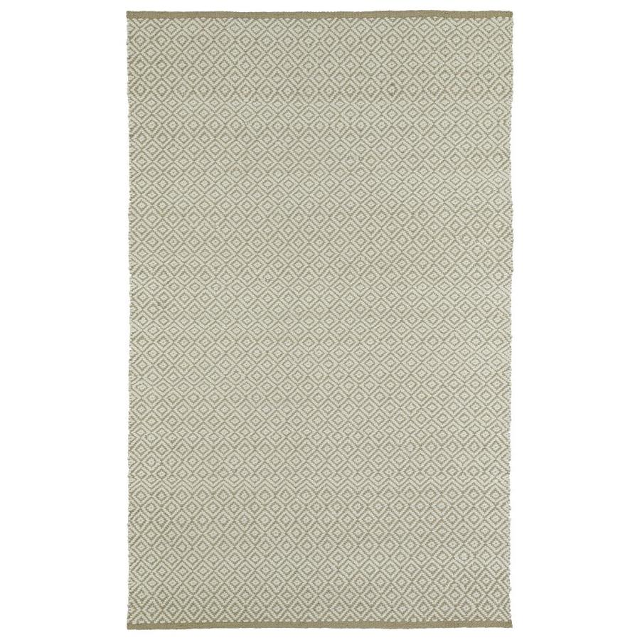 Kaleen Colinas Camel Indoor Handcrafted Nature Area Rug (Common: 8 x 10; Actual: 8-ft W x 10-ft L)