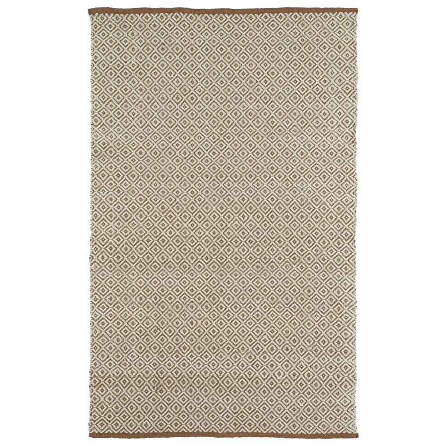 Kaleen Colinas Indoor Handcrafted Nature Throw Rug (Common: 2 x 3; Actual: 1.9-ft W x 2.1-ft L)