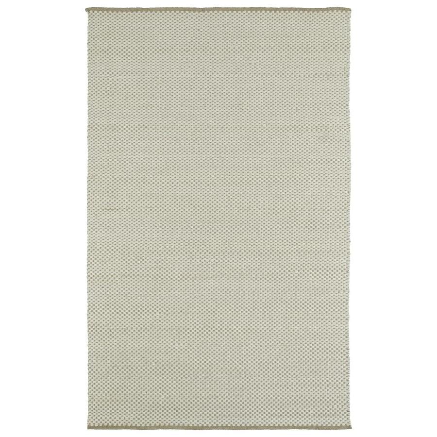 Kaleen Colinas Camel Rectangular Indoor Handcrafted Nature Throw Rug (Common: 3 x 5; Actual: 3-ft W x 5-ft L)