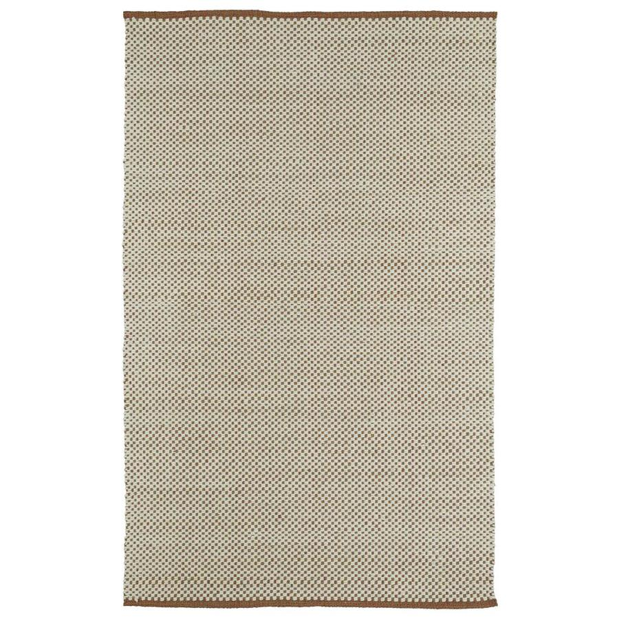 Kaleen Colinas Multi Rectangular Indoor Handcrafted Nature Throw Rug (Common: 3 x 5; Actual: 3-ft W x 5-ft L)