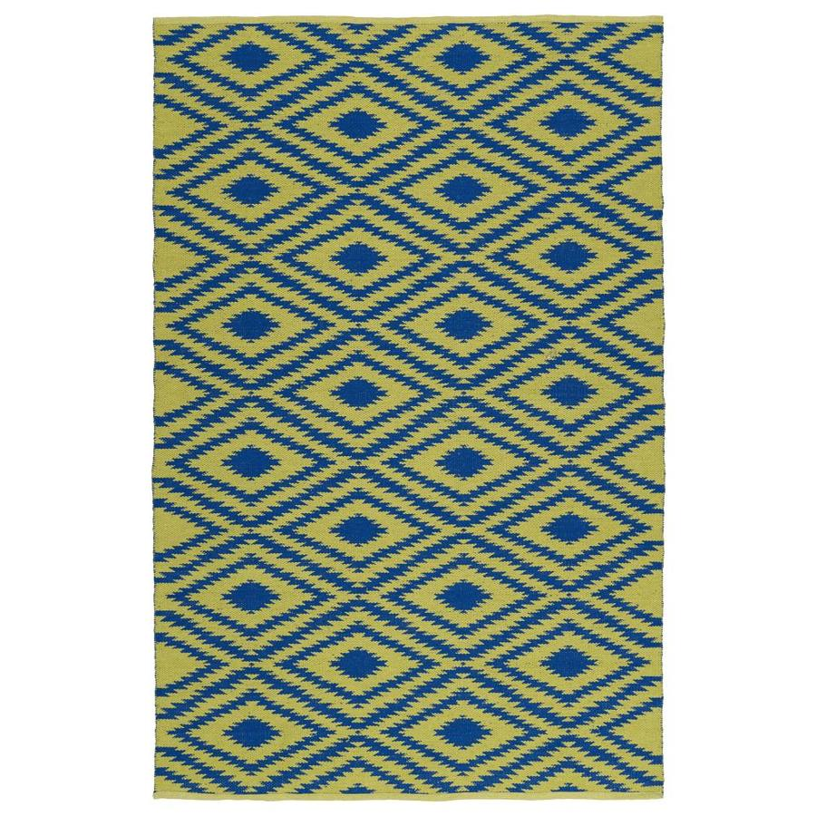Kaleen Brisa Navy Indoor/Outdoor Handcrafted Coastal Area Rug (Common: 8 x 10; Actual: 8-ft W x 10-ft L)