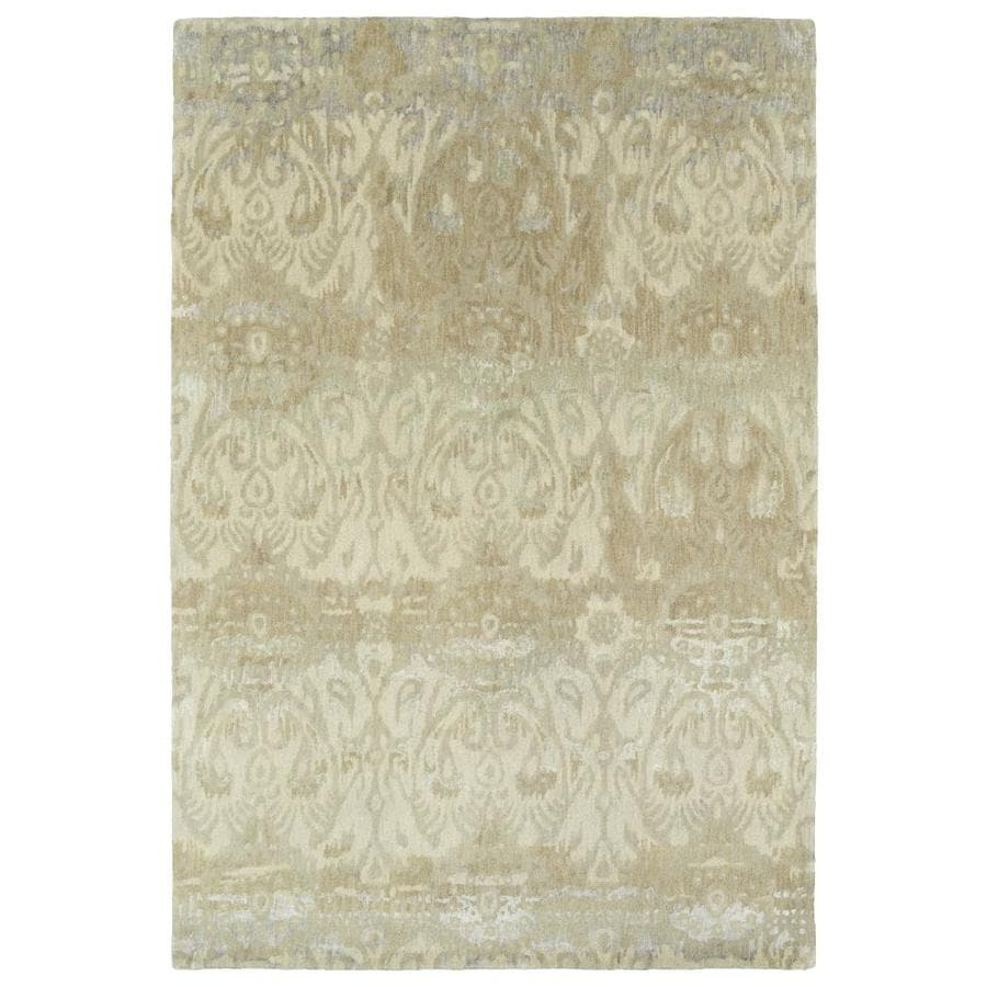 Kaleen Mercery Camel Rectangular Indoor Handcrafted Southwestern Area Rug (Common: 10 x 13; Actual: 9.5-ft W x 13-ft L)
