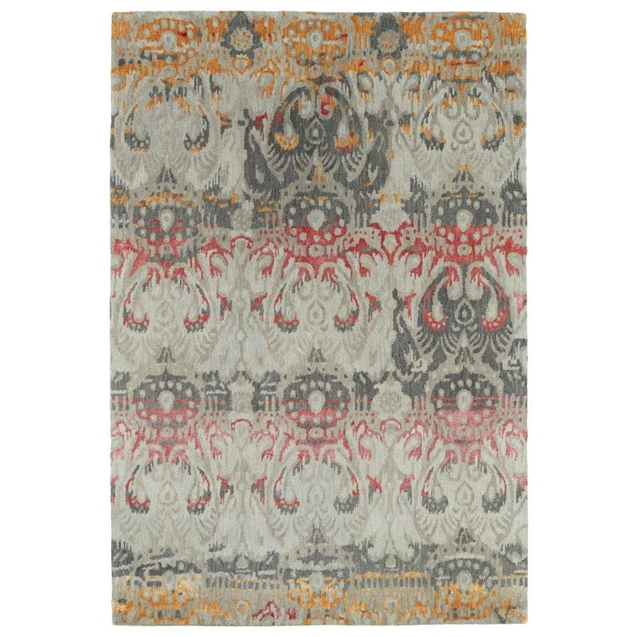 Kaleen Mercery Fire Indoor Handcrafted Southwestern Area Rug (Common: 10 x 13; Actual: 9.5-ft W x 13-ft L)