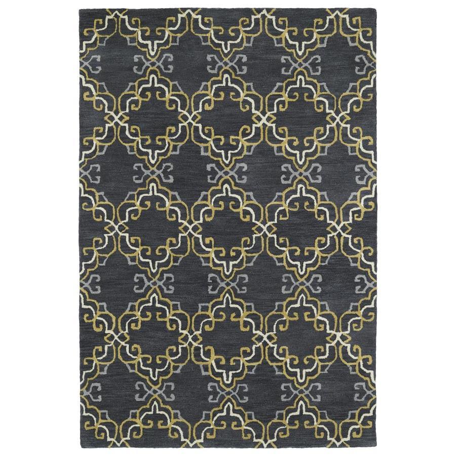 Kaleen Melange Graphite Indoor Handcrafted Oriental Area