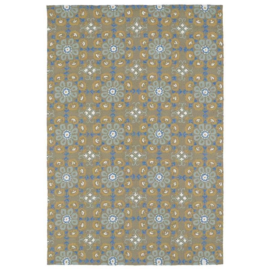 Kaleen Habitat Brown Rectangular Indoor/Outdoor Handcrafted Nature Area Rug (Common: 8 x 10; Actual: 8-ft W x 10-ft L)