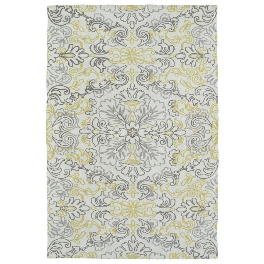 Kaleen Cozy Toes Ivory Rectangular Indoor Machine-Made Area Rug (Common: 9 x 12; Actual: 9-ft W x 12-ft L)