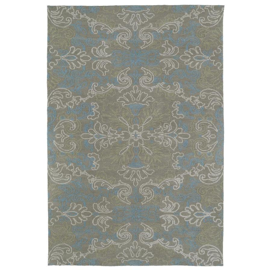 Kaleen Cozy Toes Multi Rectangular Indoor Machine-Made Area Rug (Common: 8 x 10; Actual: 8-ft W x 10-ft L)