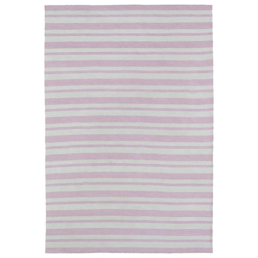 Kaleen Lily and Liam Pink Indoor Handcrafted Kids Area Rug (Common: 4 x 6; Actual: 4-ft W x 6-ft L)