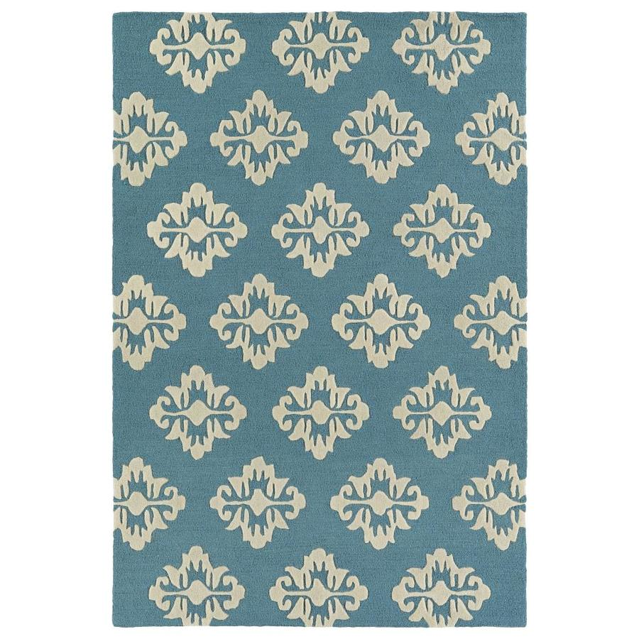 Kaleen Spaces Gold Indoor Handcrafted Inspirational Area Rug (Common: 8 x 10; Actual: 8-ft W x 10-ft L)