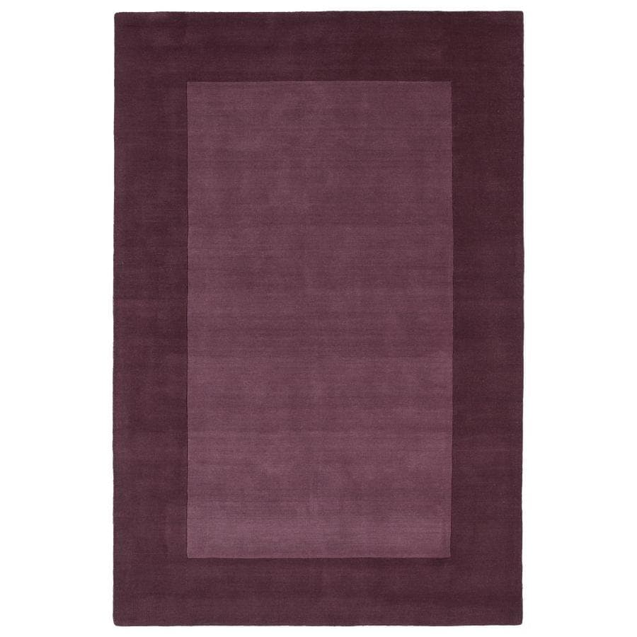 Kaleen Regency Grape Rectangular Indoor Handcrafted Oriental Area Rug (Common: 10 x 13; Actual: 9.5-ft W x 13-ft L)