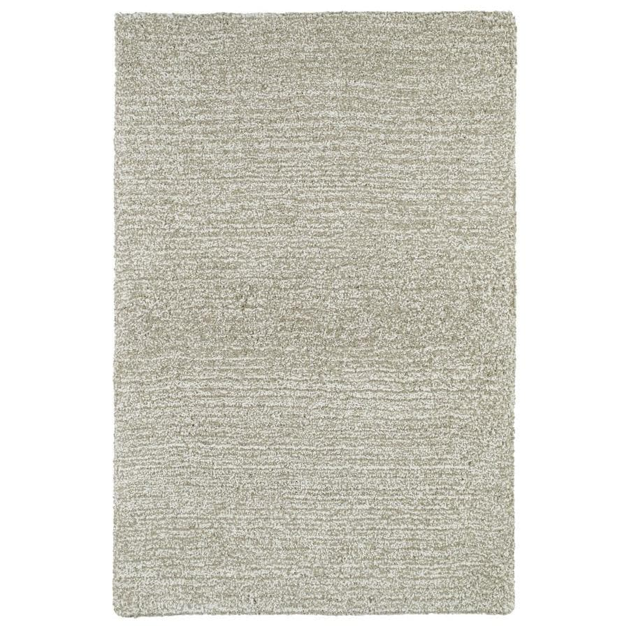 Kaleen Cotton Bloom Beige Indoor Handcrafted Area Rug (Common: 5 x 8; Actual: 5-ft W x 7.5-ft L)