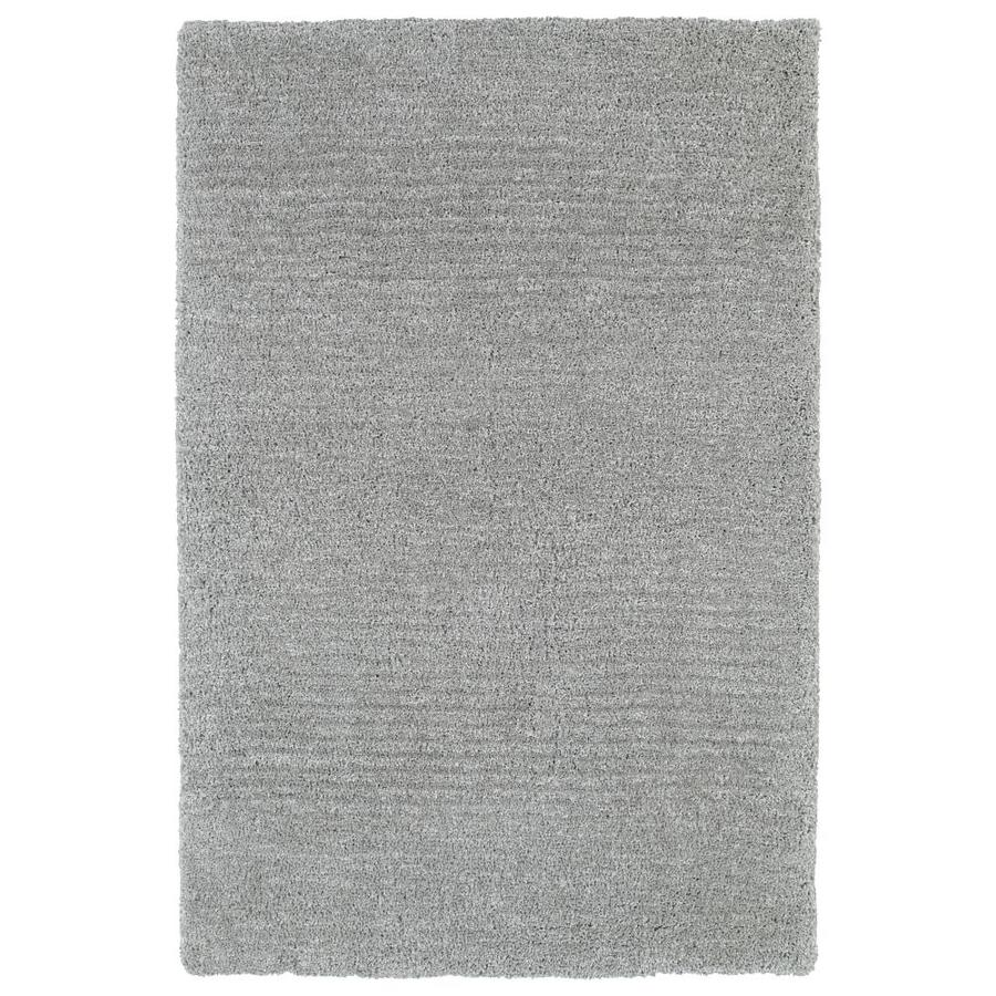 Kaleen Cotton Bloom Grey Indoor Handcrafted Throw Rug (Common: 2 x 3; Actual: 2-ft W x 3-ft L)