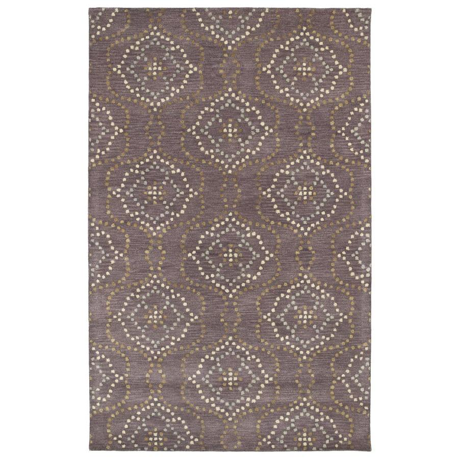 Kaleen Rosaic Grape Indoor Handcrafted Runner (Common: 2 x 8; Actual: 2.5-ft W x 8-ft L)