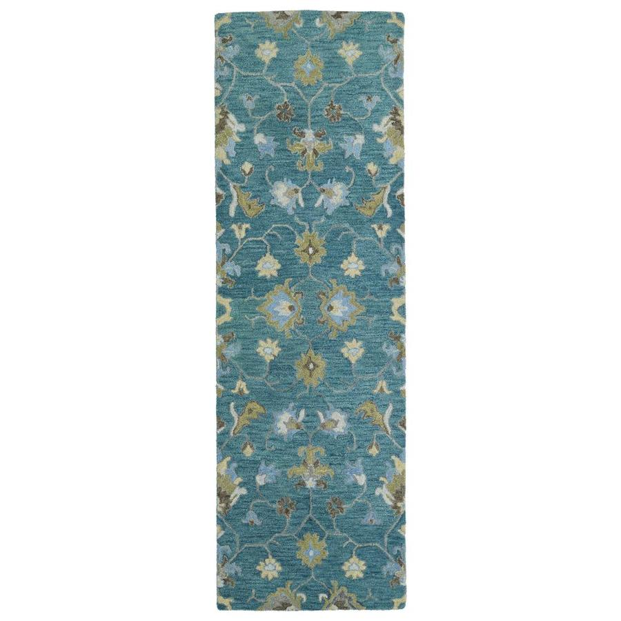 Kaleen Helena Turquoise Area Rug Reviews: Shop Kaleen Helena Turquoise Indoor Handcrafted Oriental