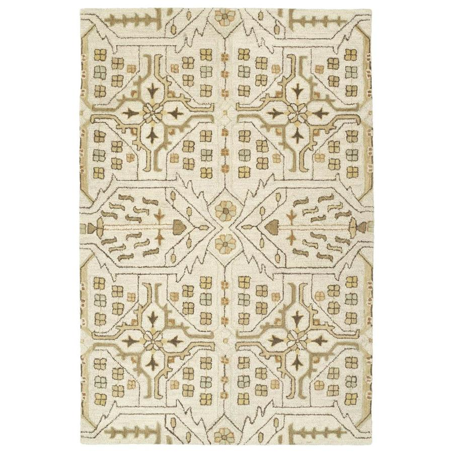 Kaleen Brooklyn Mushroom 7-ft6-in x 9-ft Area Rug