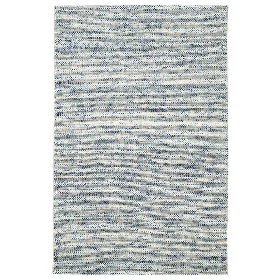 Kaleen Cord Blue Rectangular Indoor Handcrafted Area Rug (Common: 9 x 12; Actual: 9-ft W x 12-ft L)