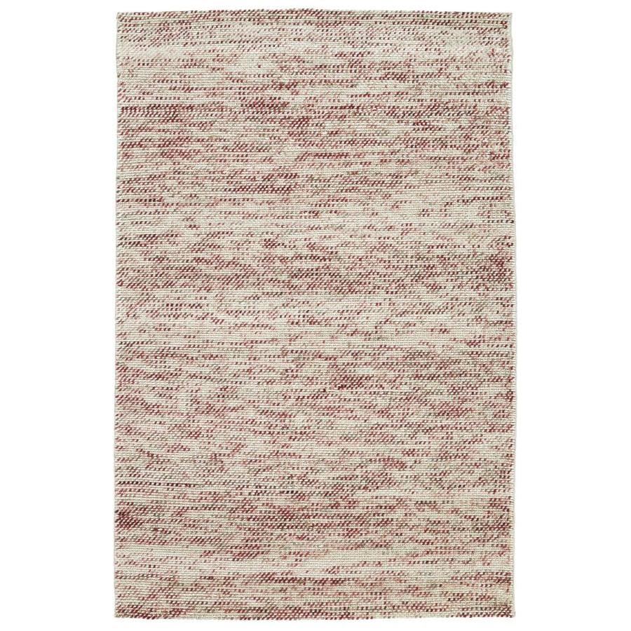 Kaleen Cord Rose Indoor Handcrafted Area Rug (Common: 8 x 10; Actual: 8-ft W x 10-ft L)