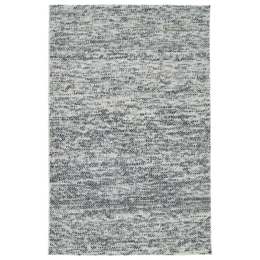 Kaleen Cord Grey Indoor Handcrafted Area Rug (Common: 4 x 6; Actual: 3.5-ft W x 5.5-ft L)