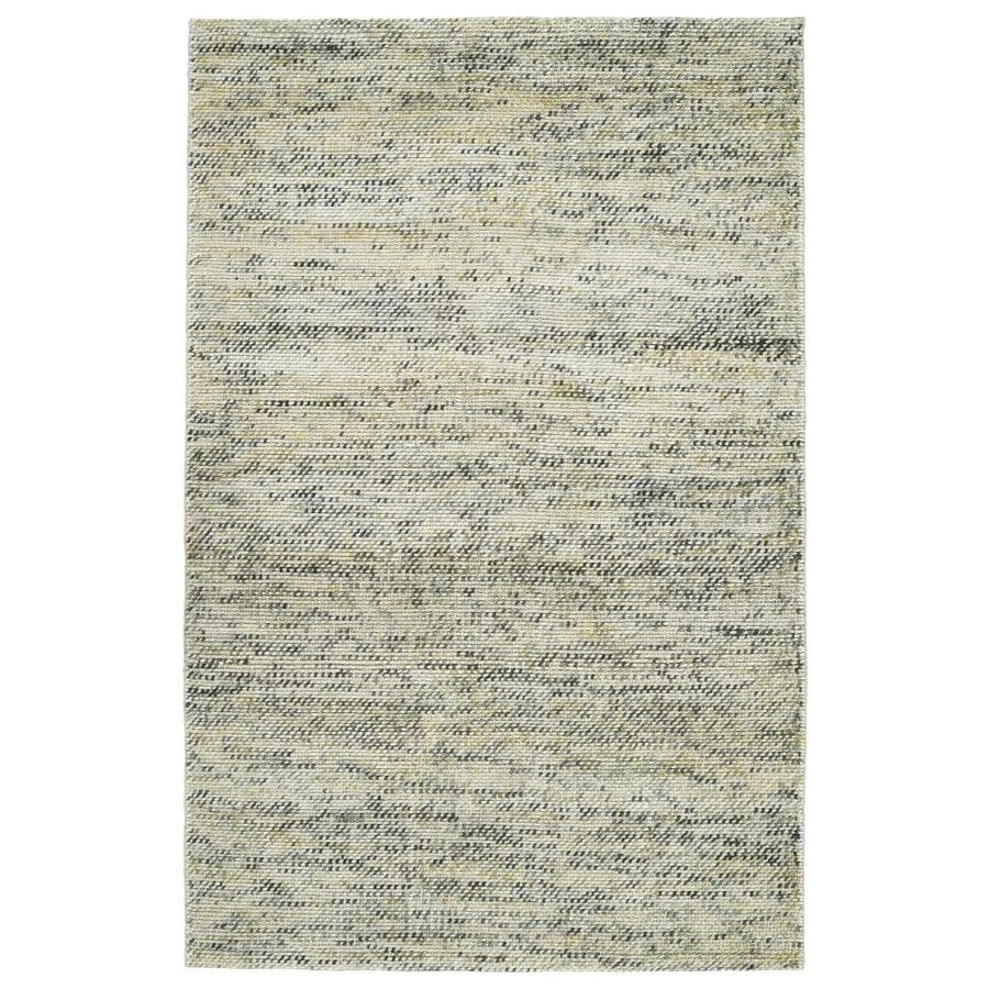 Kaleen Cord Indoor Handcrafted Area Rug (Common: 4 x 6; Actual: 3.5-ft W x 5.5-ft L)