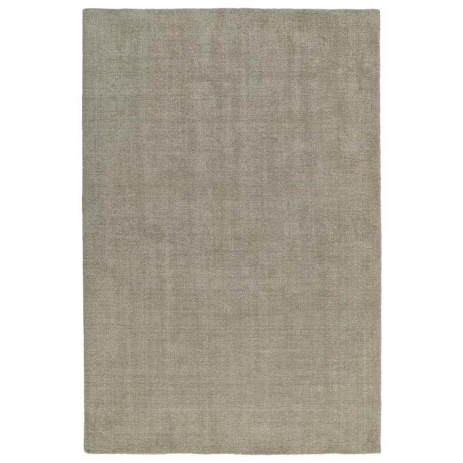 Kaleen Lauderdale Graphite Rectangular Indoor/Outdoor Handcrafted Coastal Area Rug (Common: 5 x 8; Actual: 5-ft W x 7.5-ft L)
