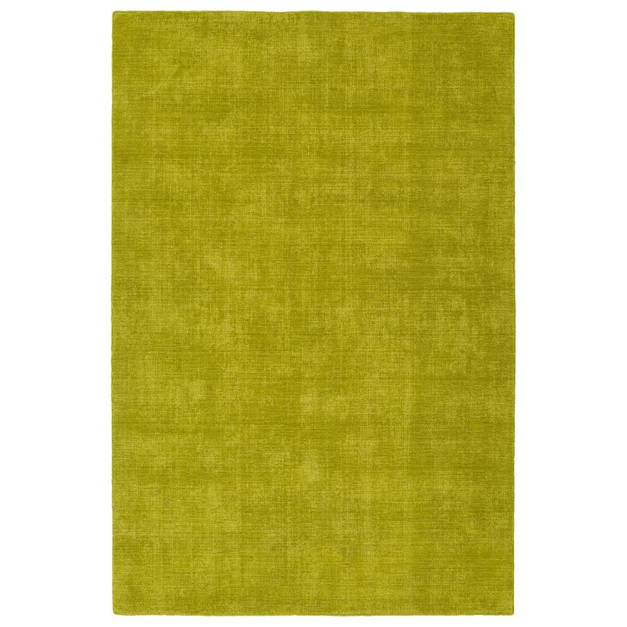 Kaleen Lauderdale Lime Green Rectangular Indoor/Outdoor Handcrafted Coastal Area Rug (Common: 4 x 6; Actual: 3.5-ft W x 5.5-ft L)