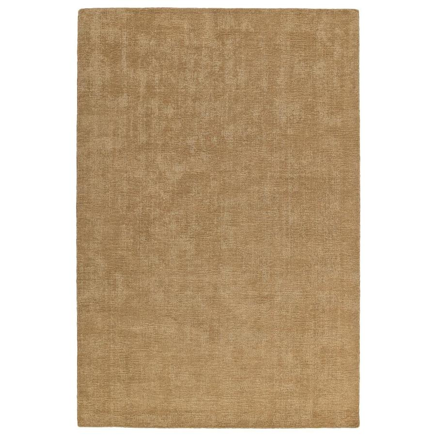 Kaleen Lauderdale Sand Rectangular Indoor/Outdoor Handcrafted Coastal Area Rug (Common: 5 x 8; Actual: 5-ft W x 7.5-ft L)