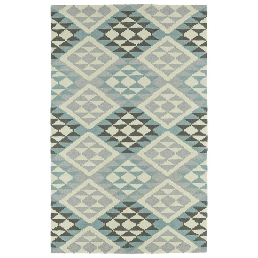 Kaleen Lakota Spa Rectangular Indoor Handcrafted Southwestern Area Rug (Common: 4 x 6; Actual: 3.5-ft W x 5.5-ft L)
