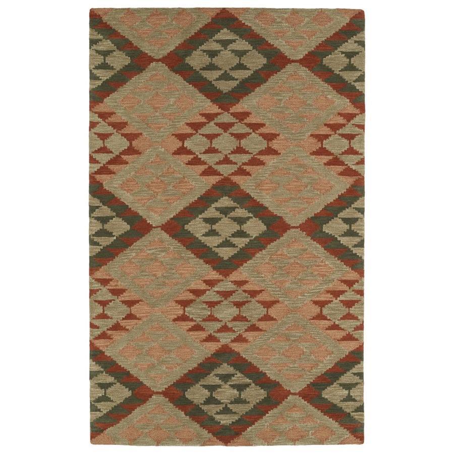 Kaleen Lakota Indoor Handcrafted Southwestern Area Rug (Common: 4 x 6; Actual: 3.5-ft W x 5.5-ft L)
