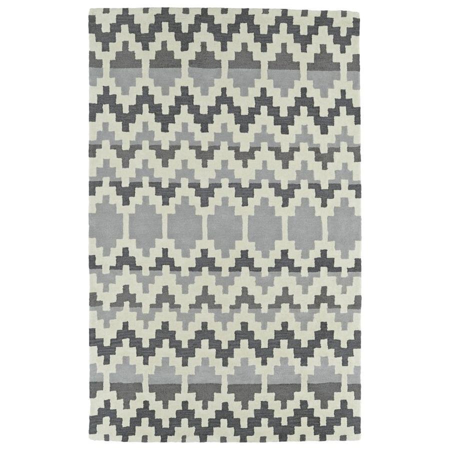 Kaleen Lakota Grey 8-ft x 10-ft Area Rug