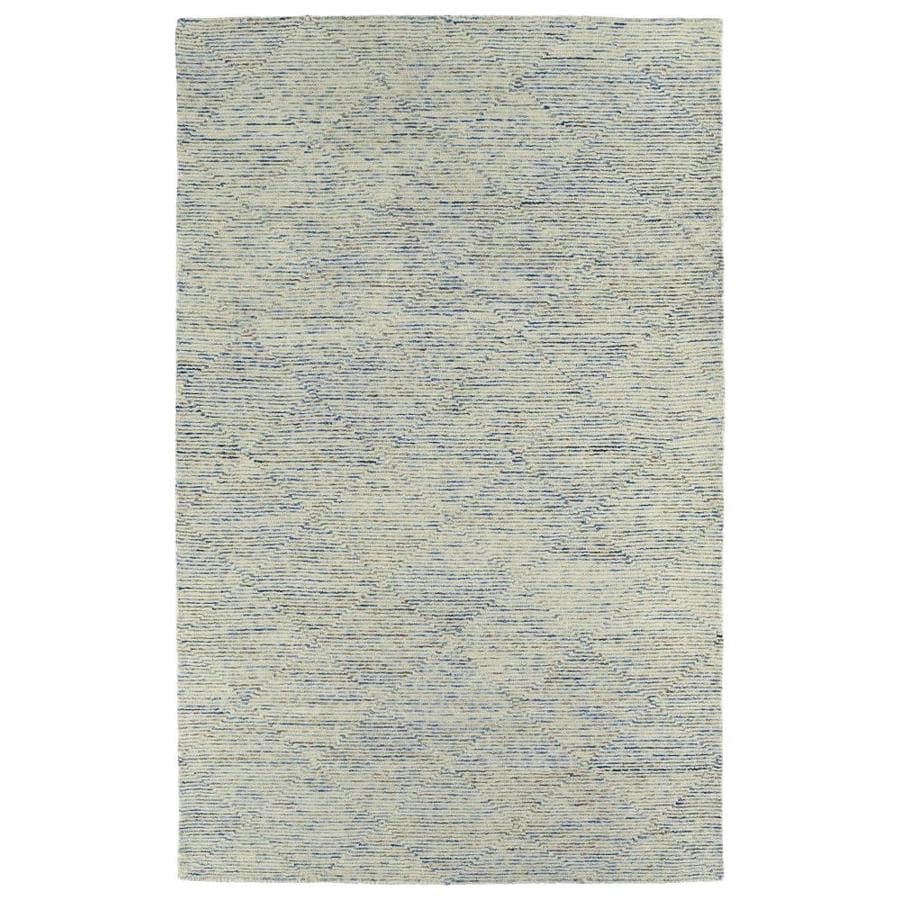 Kaleen Evanesce Blue 3-ft6-in x 5-ft6-in Area Rug