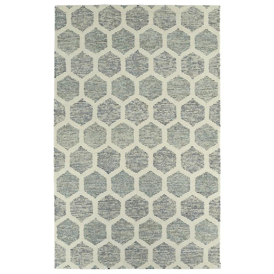 Kaleen Evanesce Ivory 5-ft x 7-ft9-in Area Rug