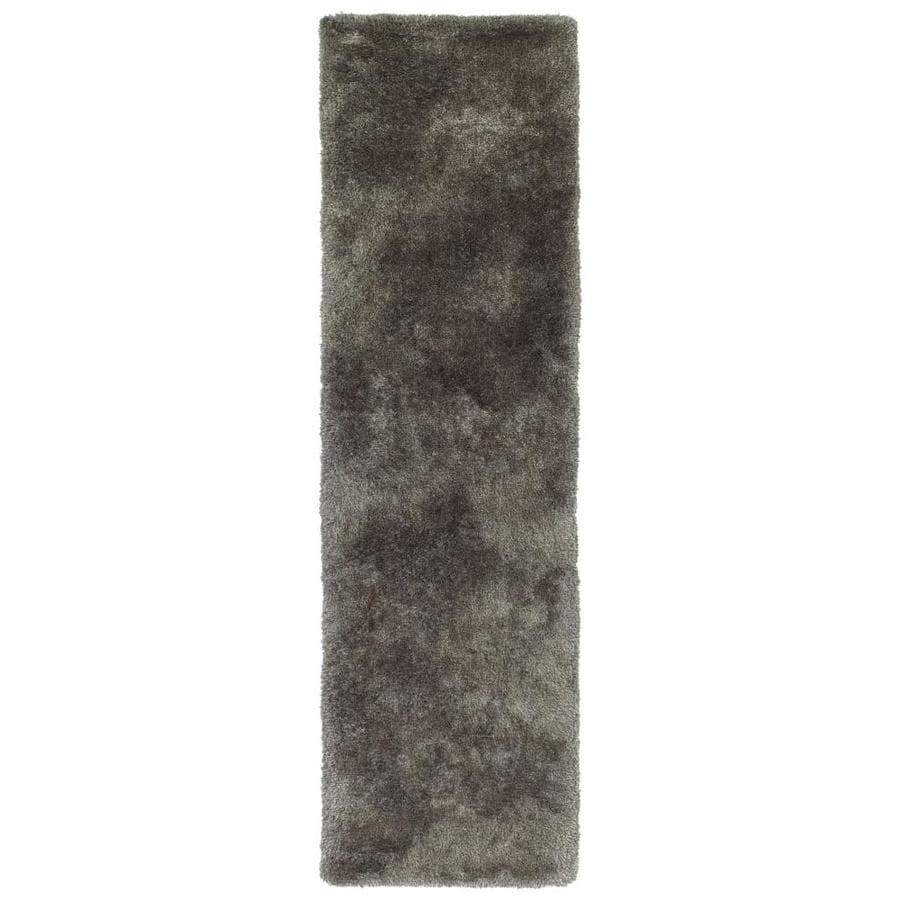 Kaleen Its So Fabulous Taupe Indoor Handcrafted Runner (Common: 2 x 8; Actual: 2.25-ft W x 8-ft L)