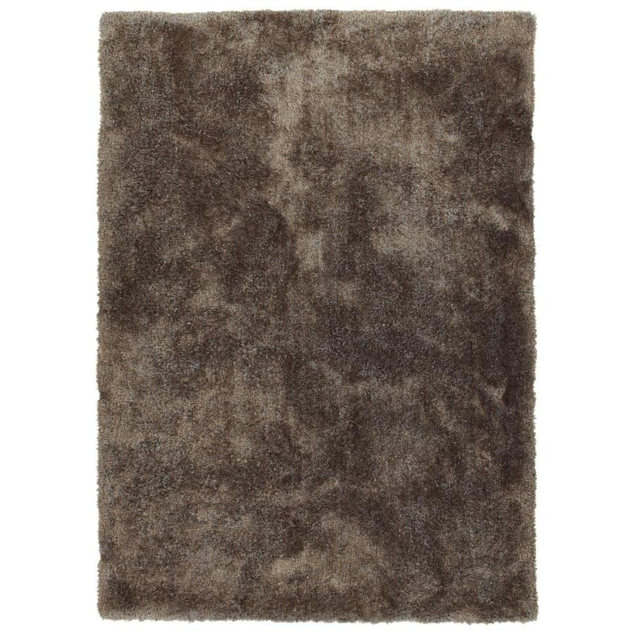 Kaleen Its So Fabulous Brown Indoor Handcrafted Throw Rug (Common: 2 x 3; Actual: 2-ft W x 3-ft L)