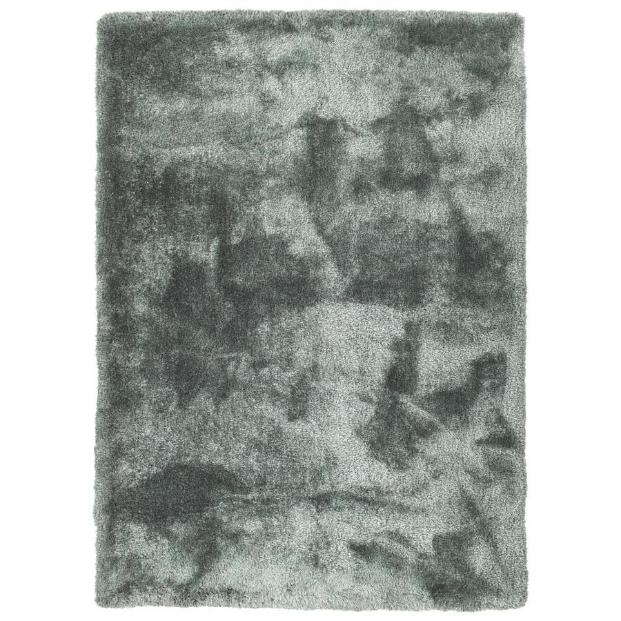 Kaleen Its So Fabulous Mint Indoor Handcrafted Throw Rug (Common: 3 x 5; Actual: 3-ft W x 5-ft L)