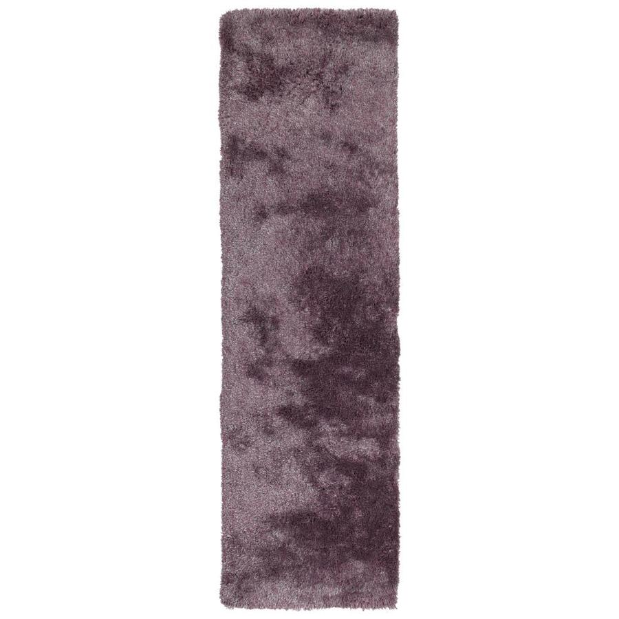 Kaleen Its So Fabulous Lilac Indoor Handcrafted Runner (Common: 2 x 8; Actual: 2.25-ft W x 8-ft L)