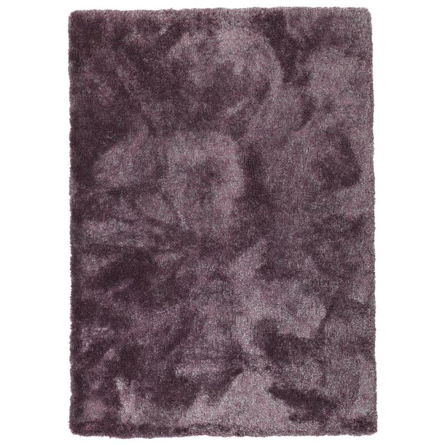 Kaleen Its So Fabulous Lilac Indoor Handcrafted Area Rug (Common: 5 x 7; Actual: 5-ft W x 7-ft L)